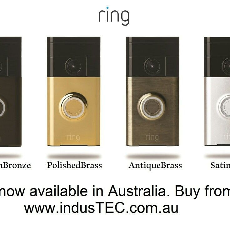 RING Video Doorbell now in Australia See more at