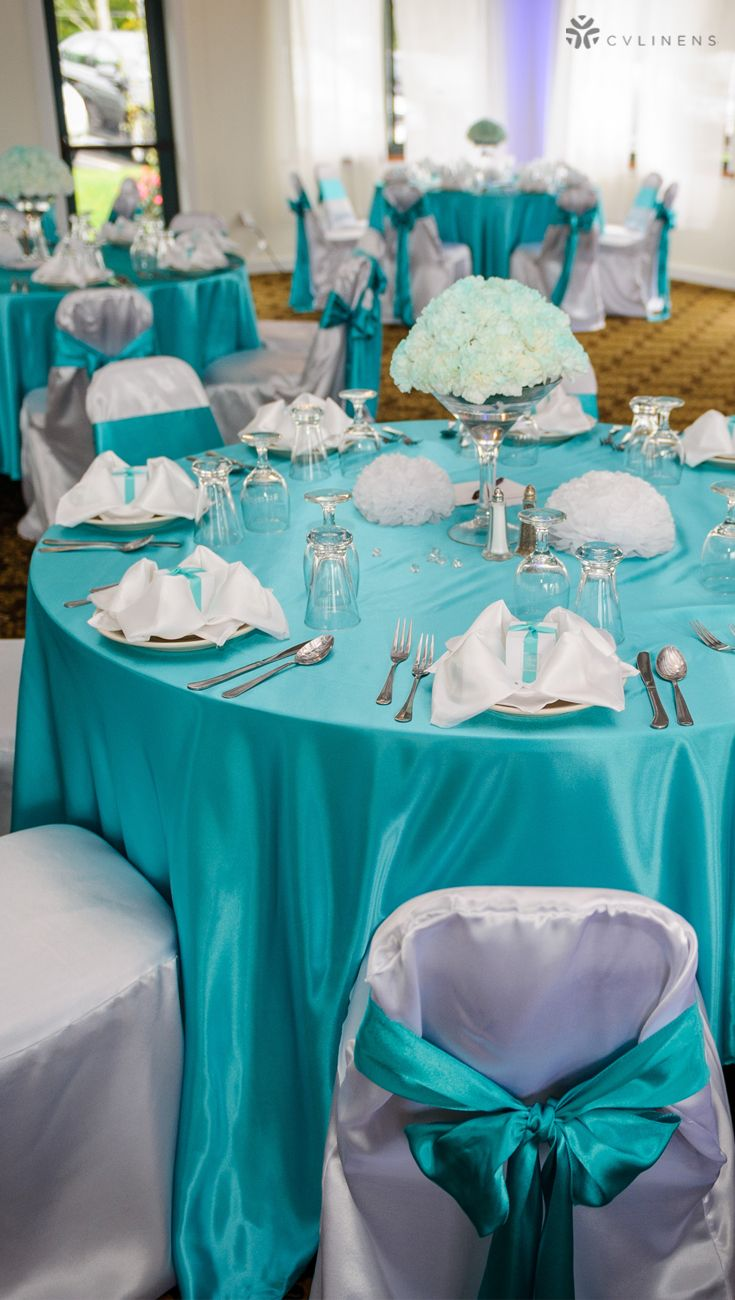 Dark Turquoise Wedding Reception Tablescape Layout Place Setting With Wedding Reception Tables Rustic Turquoise Wedding Decorations Wedding Table Centerpieces
