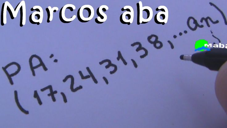 PA - Progressão aritmética - aula 02