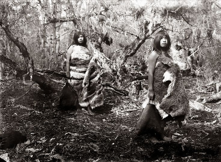 Selknam People, Photography by Alberto de Agostini, 1917