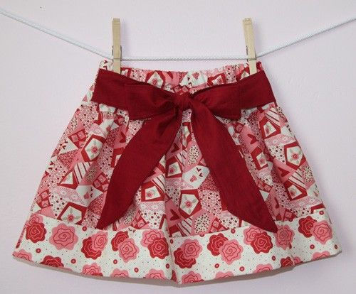 Twirl skirt pattern, PDF sewing patten ebook, Jezebel, easy, SALE size 12 months - size 8