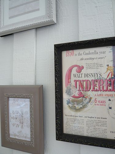 love the vintage Cinderella especially for a babies room