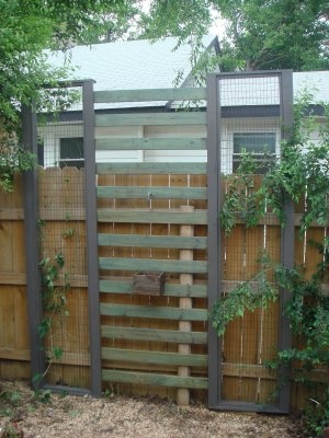 reCycled fence pickets and pallets   (blog post)
