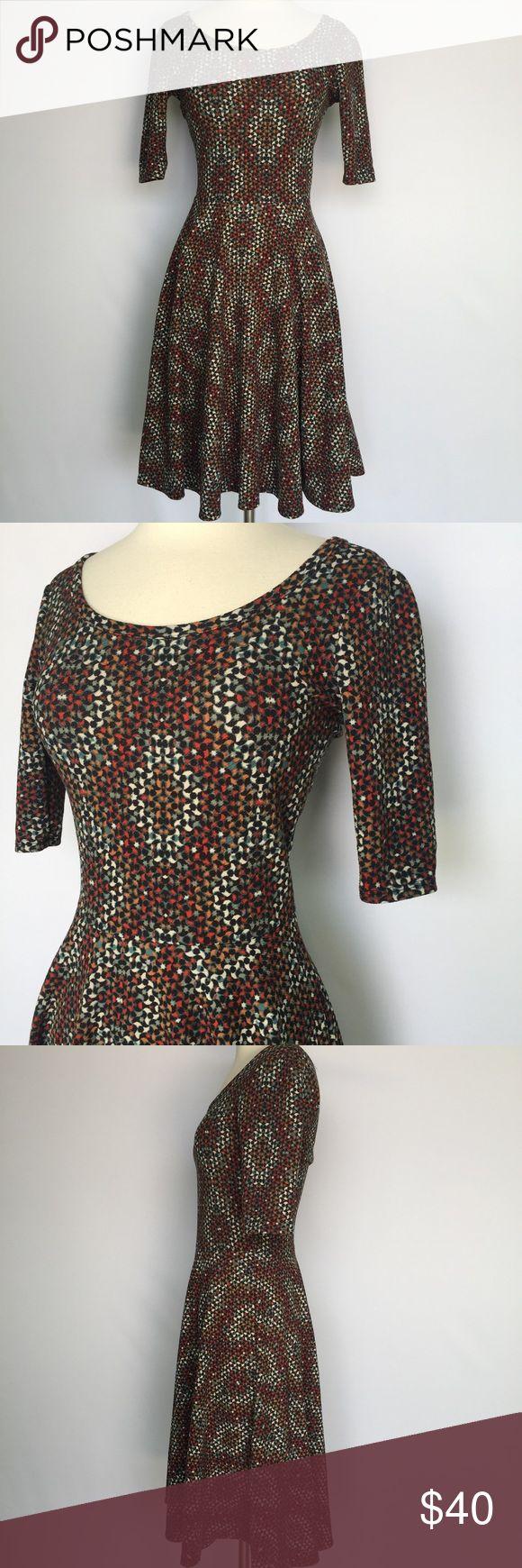 Selling this LulaRoe Amelia dress on Poshmark! My username is: prairiechic24. #shopmycloset #poshmark #fashion #shopping #style #forsale #LuLaRoe #Dresses & Skirts