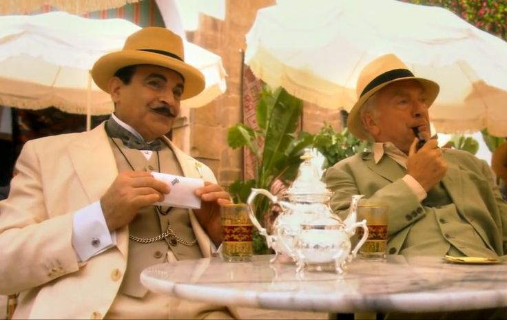 Agatha Christie, Poirot in Appointment with death.