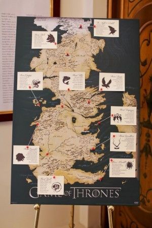 Oh So Beautiful Paper: Tony + Hsiao's Game of Thrones Wedding Invitations