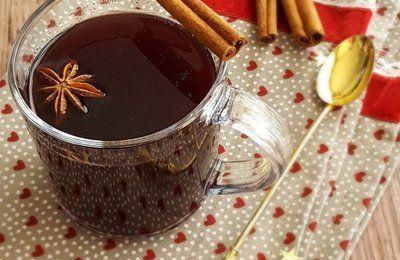 Vin chaud, version sans alcool au jus de raisin (de Jamie Oliver)