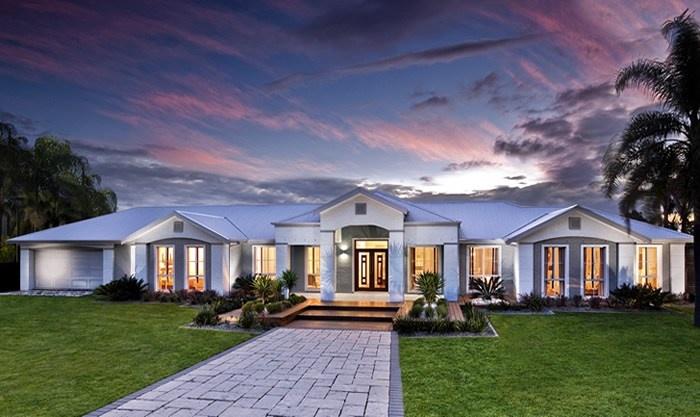 Masterton Home Designs: Chisholm Lodge - New England LHS Facade ...