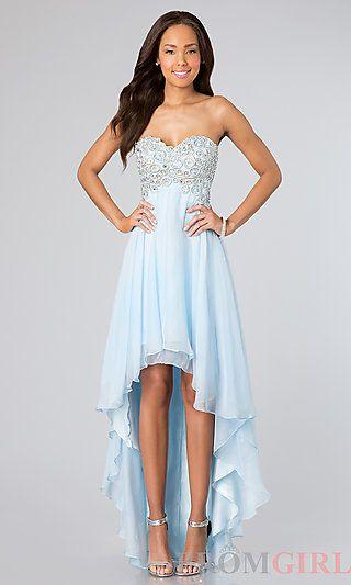 Cheap high low hem dress
