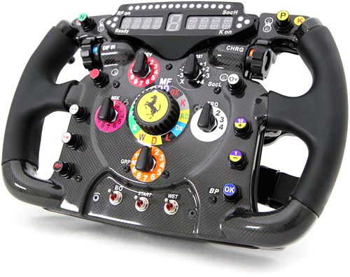 Ferrari F1 steering wheel