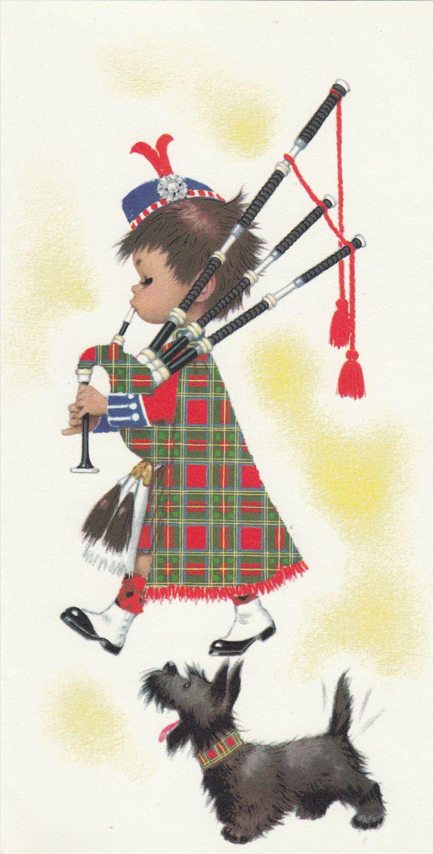 Шотландские открытки, поздравления днем святого