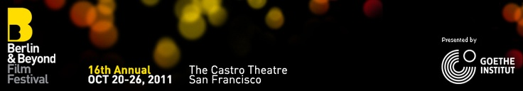 Save the Date, San Franciscans! The 17th annual Berlin & Beyond Film Festival will take place September 28th - October 4th, 2012, at the Castro Theatre