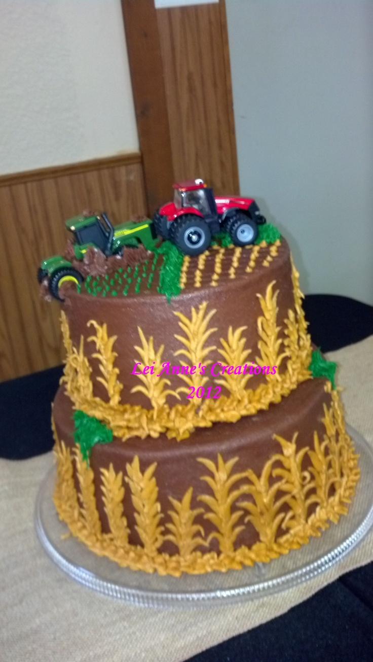 John Deere Cake Designs