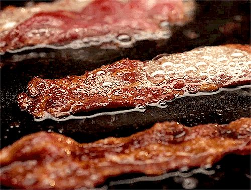 Somewhere, somehow, bacon is sizzling. | 12 Things You Can Celebrate Despite Yesterday's Crippling Defeat