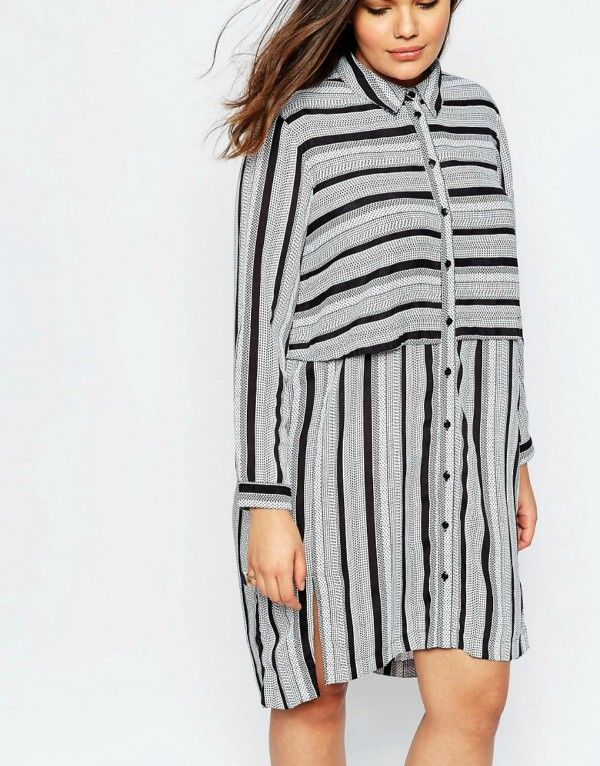 Shirt dresses for #winter 2016. #fashion #style