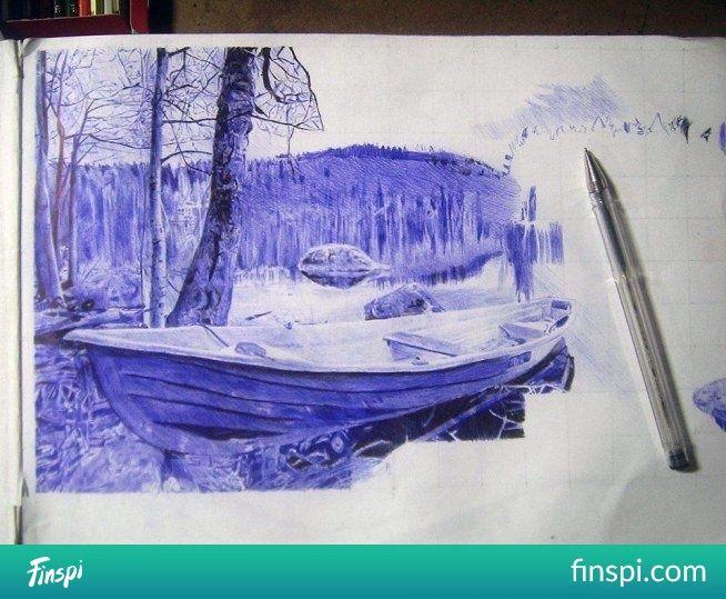 drawing pen #drawing #art #ballpen