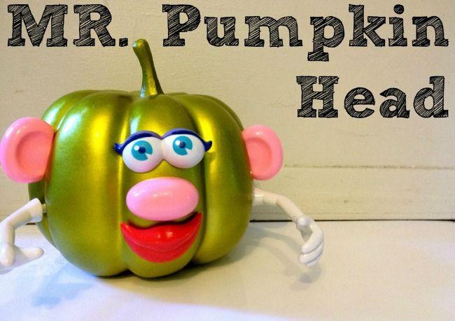 Mr Pumpkin Head at B-Inspired Mama
