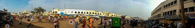 Lord Jagannath Temple Puri Orissa Panorama View
