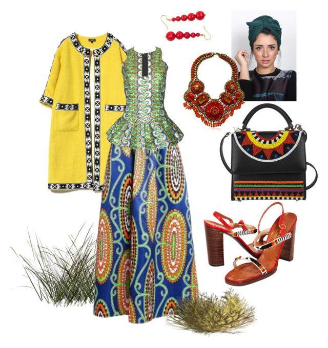 """Фольклорный стиль #africa"" by anastasia-rysjatova on Polyvore featuring мода, FAIR+true, Les Petits Joueurs и NOVICA"