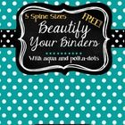 I'm on a mission to beautify my binders! These FREE binder covers and spines offer you two cover choices and five different spine sizes.  My beauti...