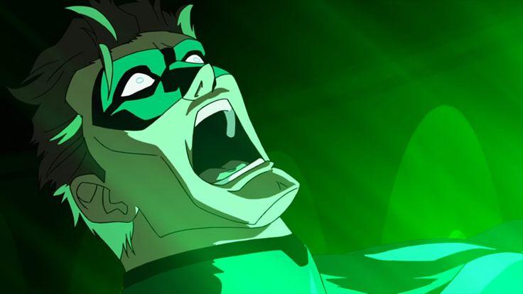 Hal Jordan gets his first illuminating taste of power in Green Lantern: First Flight