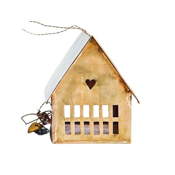 petite maison laiton photophore .:serendipity.fr:.