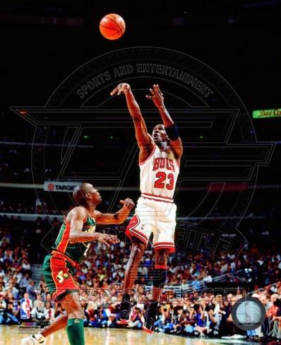 Michael Jordan Game 6 of the 1996 NBA Finals