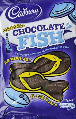 NZ Chocolate Fish