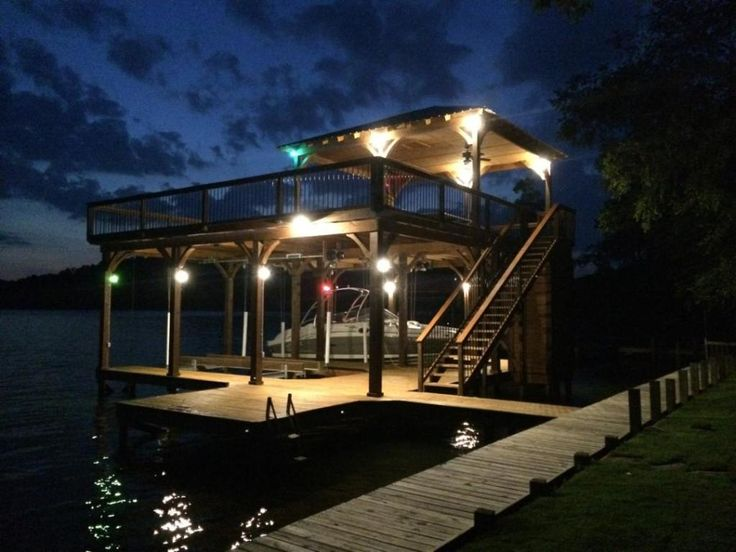 My Family Owns Some Beach Front Property In The West And We Would Love To  Put A Dock Up Like This For Our Sail Boats.