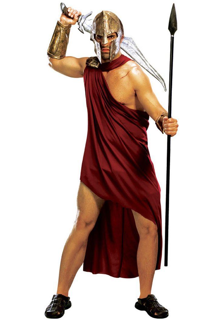 Dit is een typische Spartaanse soldaat. Het verzet kon een Spartaan herkennen aan zijn helm.