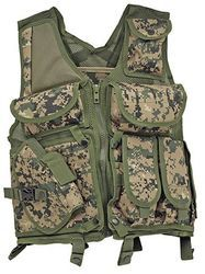 Green Woods Camo Tactical Vest For Sale @Airsoft-Club HK