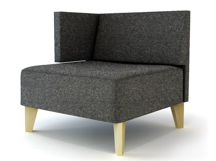 Sofá secional modular de madeira URBAN MODULAR by Capdell design edeestudio