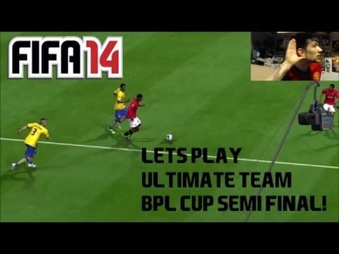 FIFA 14 Xbox One | Ultimate Team #4 | BPL CUP SEMI FINAL