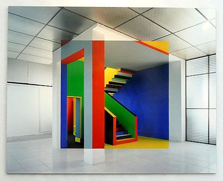 Art Gallery, Art Installations, Architecture, George Rousse, Rousse Pictures, Georges Rousses, Art Contemporain