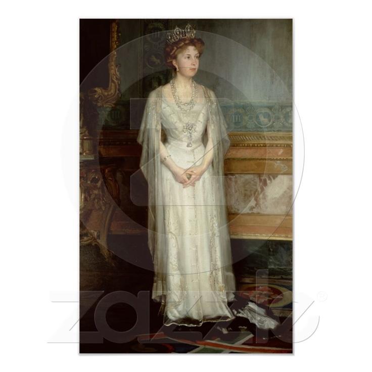 Princesa Victoria Eugenie, rainha da espanha Poster de Zazzle.pt
