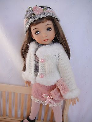 Handknitted Outfit for Little Darling Doll 13 inches Dianna Effner New | eBay. Ends 3/6/14.