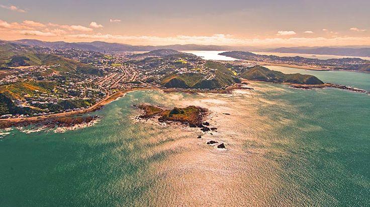 Wellington, Island Bay,   see more at New Zealand Journeys app for iPad www.gopix.co.nz
