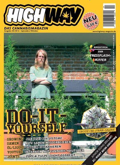 #DIY für #Kiffer: beste Tipps für #Growing, Samen, Öl, #Joints, ...  Gefunden in Highway, Ausgabe 4/2016