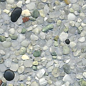 Great Smokey Grey : Translucent White Pebbles Are Combined With A Small Amount Of  Glossy Black Pebbles