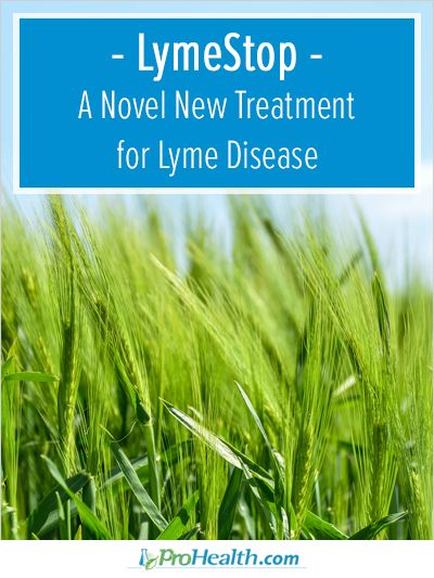 In this article, Connie Strasheim describes LymeStop, a novel new treatment for Lyme disease.  - ProHealth.com