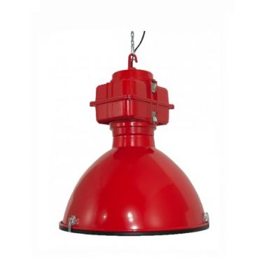Industriële hanglamp Mandie 05 rood ~ Hanglampgigant.nl ~