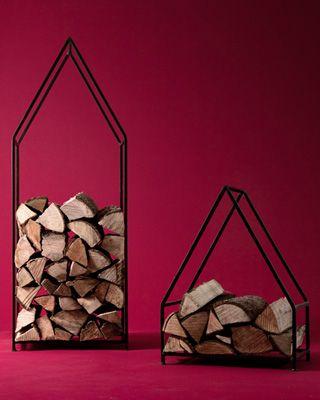 Firewood Holder - Gold Leaf Design Group