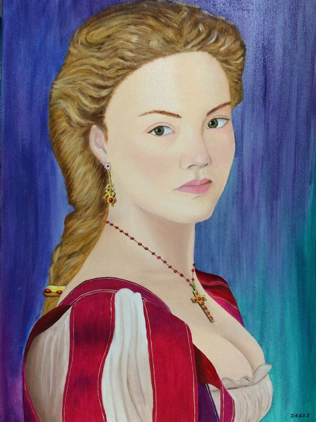 Lucrezia Borgia aka Holliday Grainger