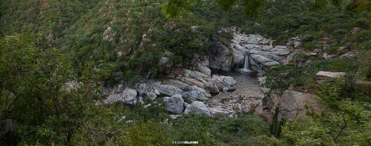 Sol de mayo waterfall in La Zorra Canyon  #josafatdelatoba #cabophotographer #mexico #bajacaliforniasur #loscabos #sanjosedelcabo #sierra #landscape