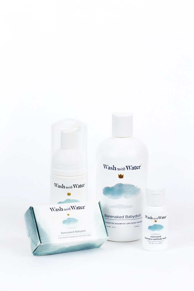 BARENAKED BABYDOLL ECZEMA BUNDLE   WASH WITH WATER from Am�lie