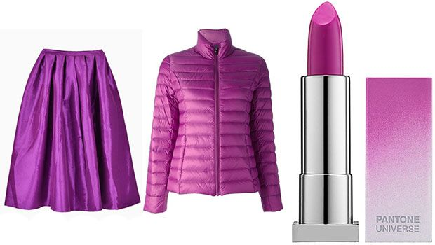 9 Ways To Wear Radiant Orchid: http://www.stylelist.ca/2014/03/12/spring-trends-2014-radiant-orchid/