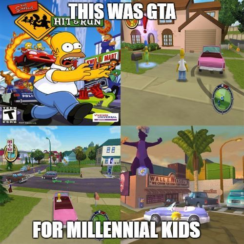 I played GTA too but yes lol