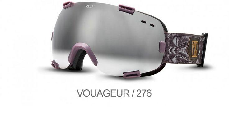 ZEAL OPTICS VOUAGEUR / 276 Ένα ταξίδι δράσης και μοτίβα απ' όλο τον κόσμο αναμειγνύονται στη μάσκα VOYAGER που σας εγγυάται εξαιρετική οπτική ευκρίνεια για απόλυτη ελευθερία κινήσεων πάνω στο βουνό!