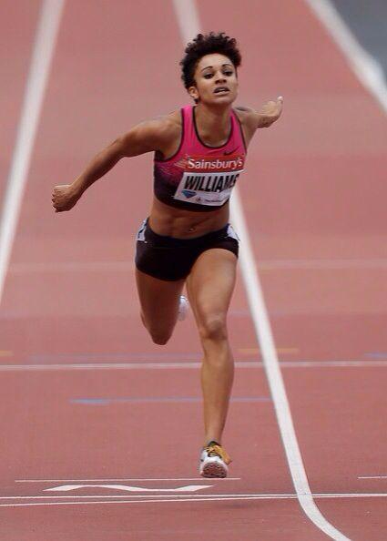 Jodie Williams,  100m and 200m British sprinter