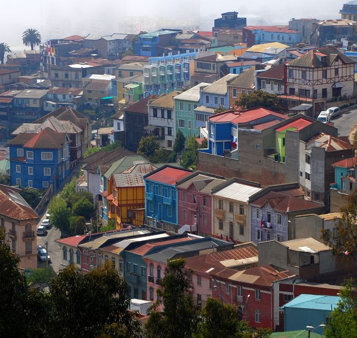 City view; Valparaiso Chile Eureka Travel #SouthAmerica